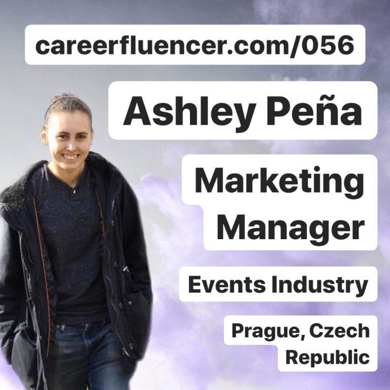 Adaptability Career Podcast Episode Ashley Pena Careerfluencer Events Industry