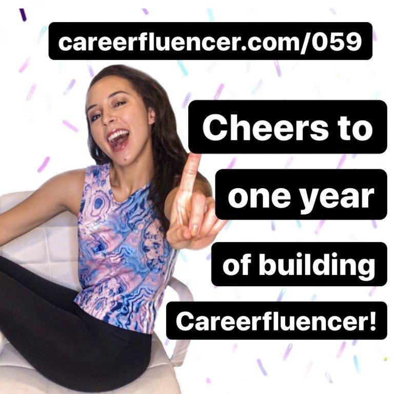 Careerfluencer Founder Cynthia Heisch Year One Episode