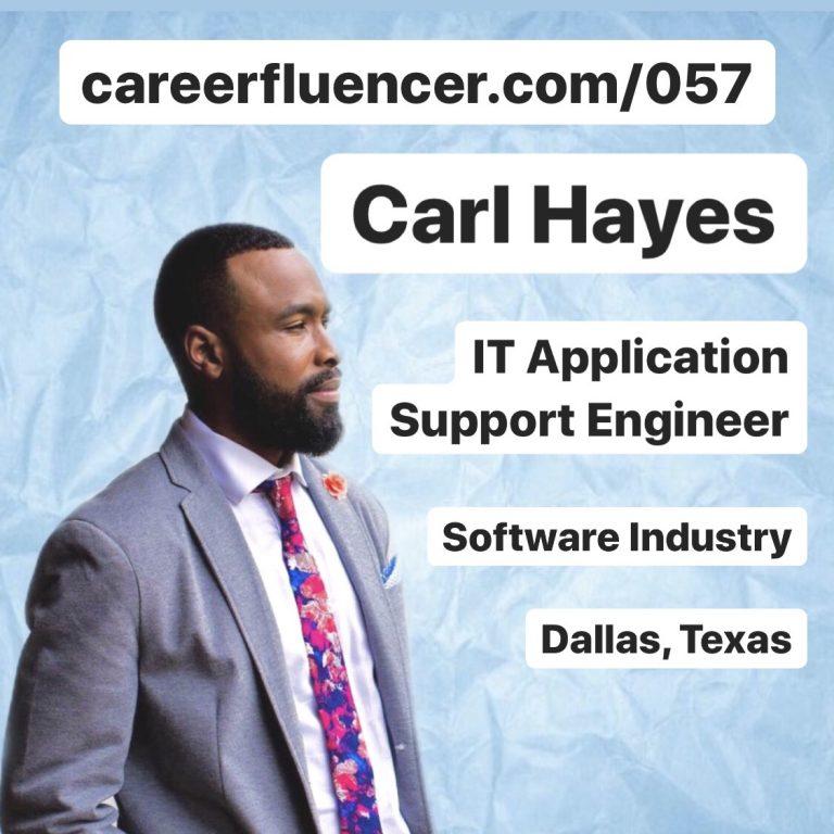Recent Grad Hurdles Job Searching Podcast Episode Careerfluencer Carl Hayes
