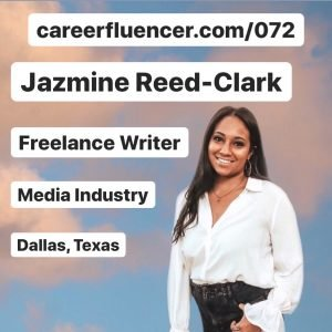 Take Control of Career Podcast Episode Jazmine Reed-Clark Careerfluencer