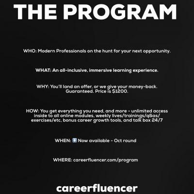 THE PROGRAM – Oct. Invitation
